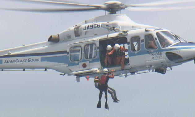ヘリコプターでの訓練